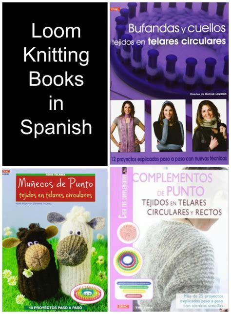 loom knitting books knitting books