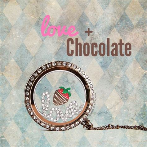 chocolate origami owl locket origami owl at storied charms january 2014