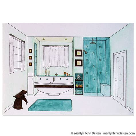 bathroom drawing home design idea bathroom designs drawings