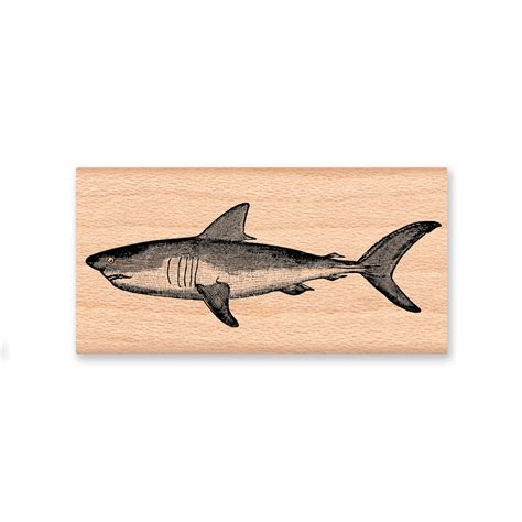 wood mounted rubber sts shark wood mounted rubber st 20 05
