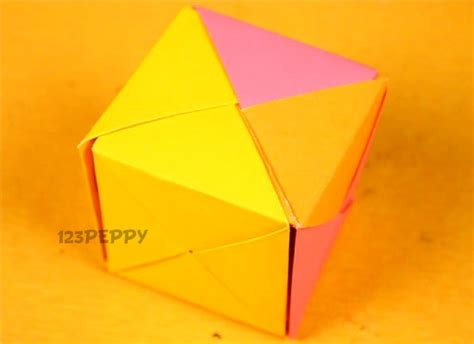 how to make origami cube pin pikachu origami cube paper kawaii