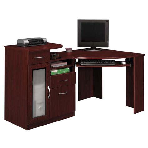 corner cherry desk cherry wood corner computer desk bush furniture series a
