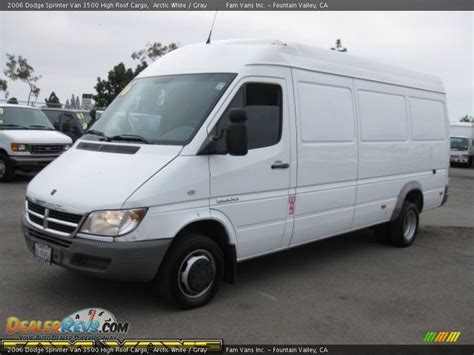 2006 Dodge Sprinter by 2006 Dodge Sprinter 3500 High Roof Cargo Arctic White