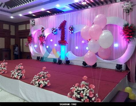 decorations images birthday decoration at shenbaga hotel and convention