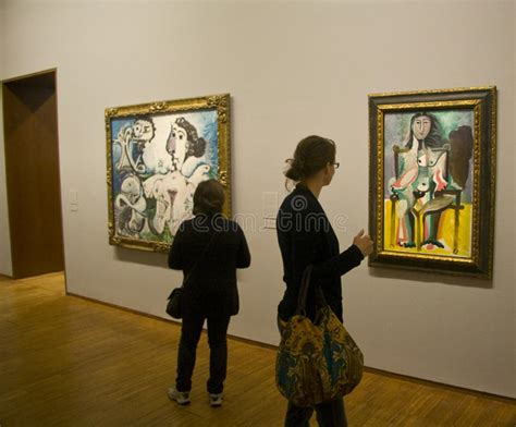 picasso paintings vienna albertina gallery picasso exhibition editorial stock photo