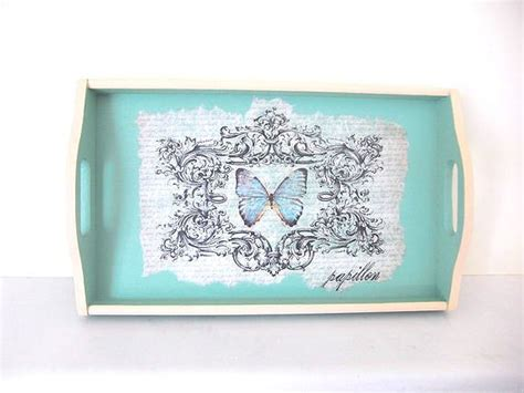 decoupage tray ideas 17 best images about decoupage serving trays on