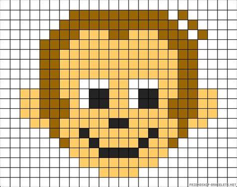 perler monkey pattern oltre 1000 immagini su perler su fiocchi