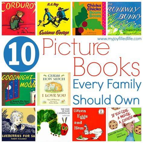 family picture book books every family should own my filled