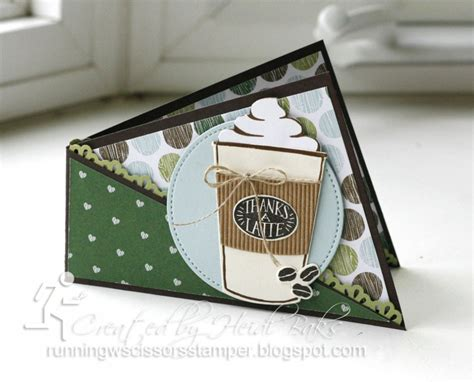 rubber sted cards coffee cafe twisted card by hlw966 cards and paper