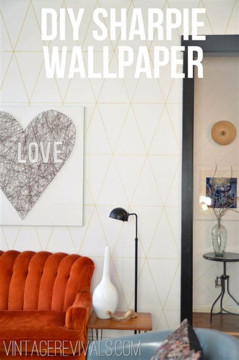 wallpaper craft projects 50 coolest sharpie crafts created diy