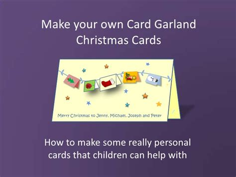 make you own card make your own cards