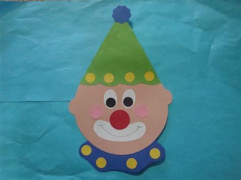 clown crafts for clown craft class crafts
