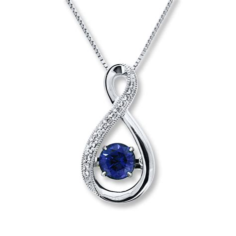 sterling silver colors in rhythm lab created sapphire sterling