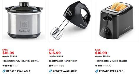 kohl s deals small kitchen appliances 1 66 each