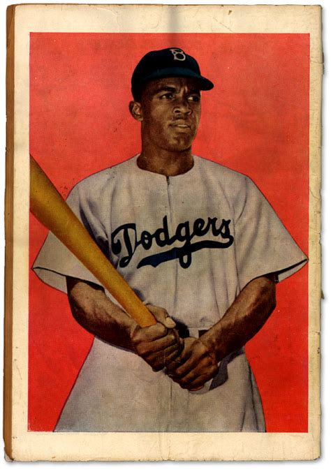 a picture book of jackie robinson jackie robinson comic 1947 back cover 171 our