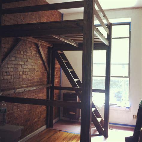 wood loft bunk bed chicago loft beds solid wood loft bed kits choose any