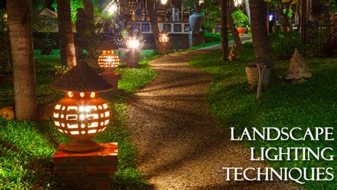 dot landscape lighting outdoor lighting techniques landscape lighting