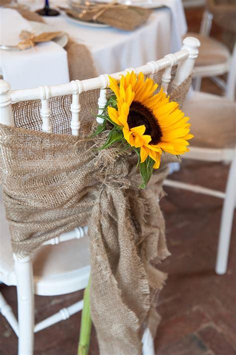wedding crafts for diy wedding crafts burlap sunflower chair covers diy