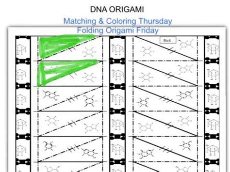how to make dna origami dna origami coloring