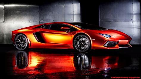 Car Wallpaper Orang by Lamborghini Reventon Orange Car Wallpaper Best All