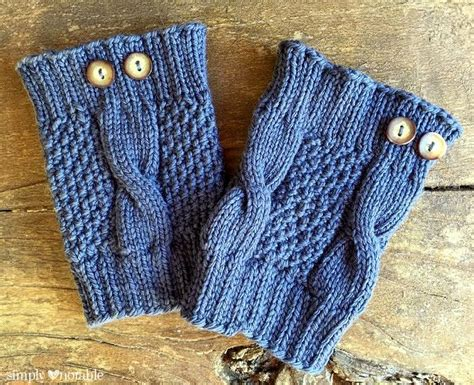cable knit boot cuffs pattern simple cable knit boot cuffs simply notable