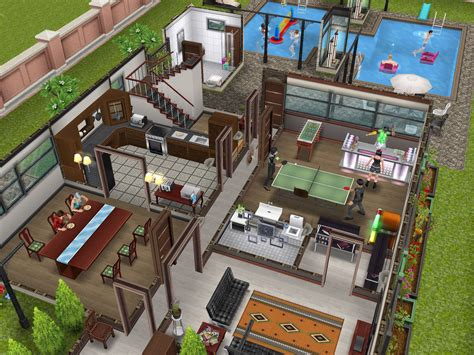 sims freeplay house floor plans sims freeplay two story mansion floor plan