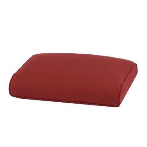 outdoor ottoman replacement cushions martha stewart living cedar island replacement outdoor