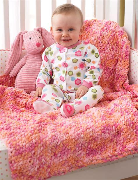 bernat baby knitting patterns bernat corner to corner seed st blanket knit pattern