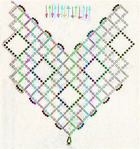free printable seed bead patterns free pattern for beautiful beaded necklace cherry
