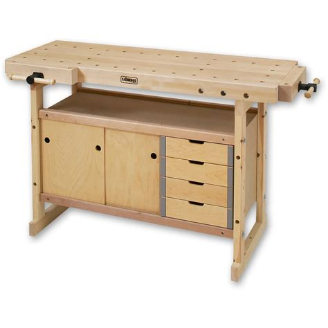 Sjobergs Nordic Plus 1450 Work Bench With Cupboards