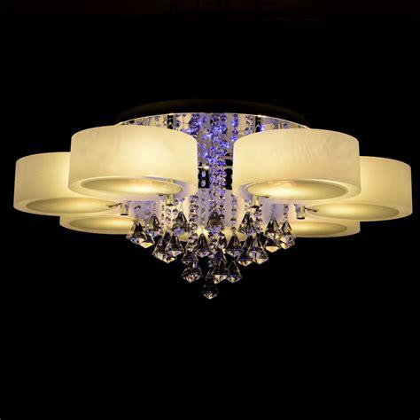 led chandelier lights rgb modern chandelier with remote 7 lights led chandeliers light for bed living