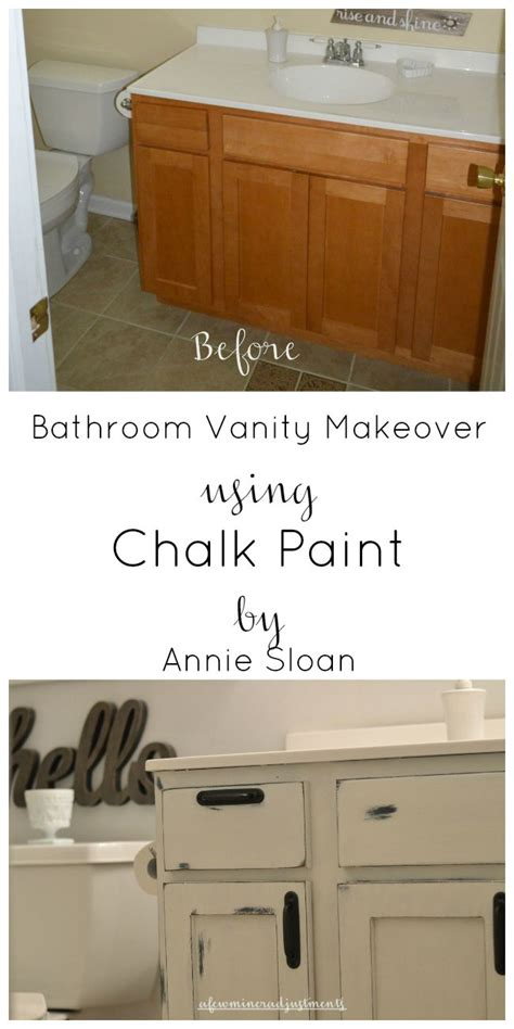 chalk paint instagram vanity makeover chalk paint by sloan my suburban