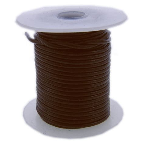 beading leather cord 1 5mm leather cord brown the bead shop