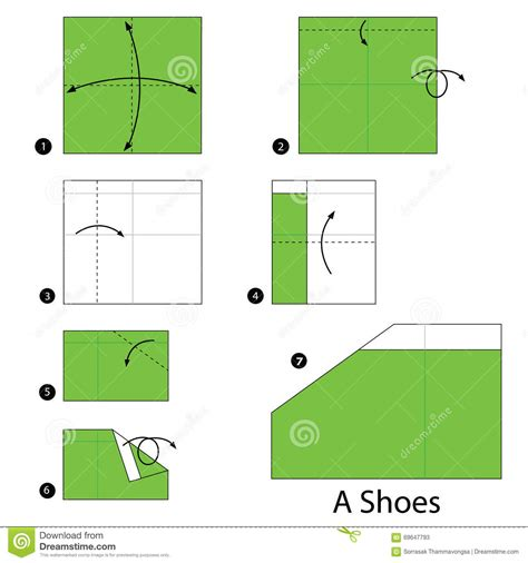 how to make origami shoes step by step how to make origami a shoes