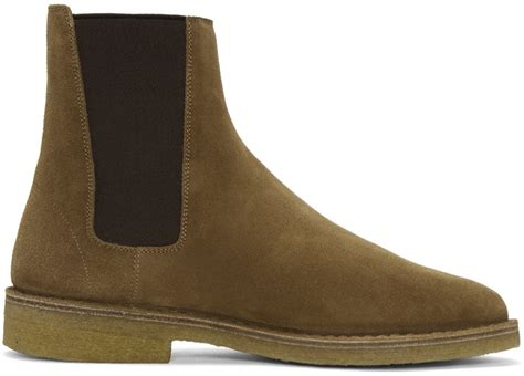 nevada rubber st laurent suede nevada boots ssense