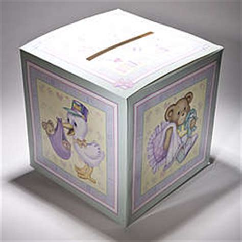 how to make a baby shower card box baby shower card box findgift