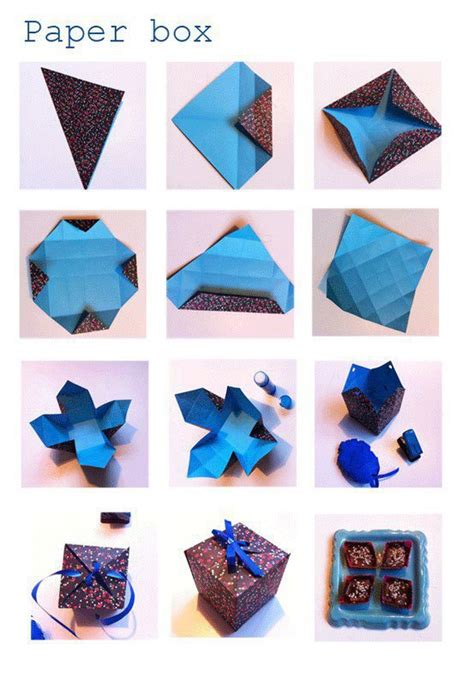 box paper craft diy paper box diy craft projects