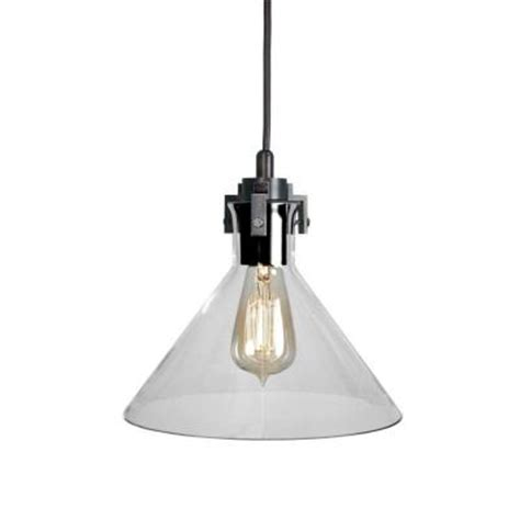 home depot pendant lights home decorators collection 1 light clear glass ceiling