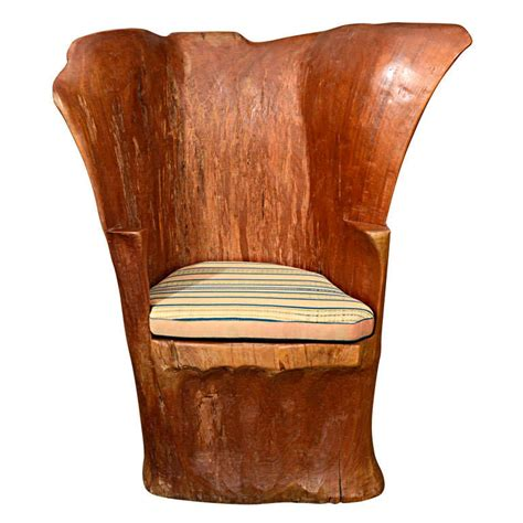 Stump Chair by Organic Wood Stump Chair