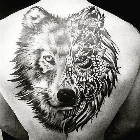 mandala wolf tattoo wolftattoo on instagram