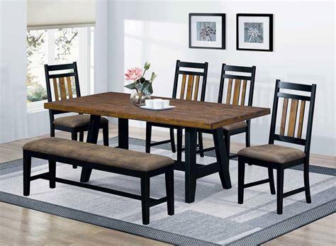 bench kitchen table set dallas designer furniture waller rustic kitchen table
