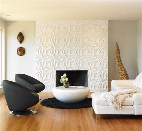 Bathroom Accent Wall Ideas a royal view modern living room vancouver by the