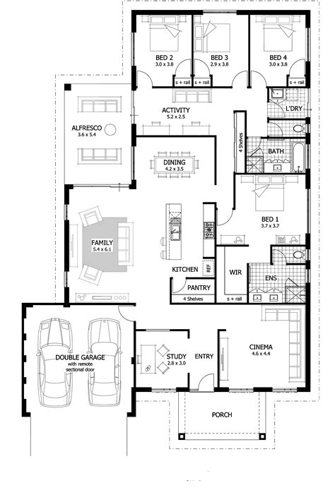 2 master bedroom homes 4 bedroom house plans home designs celebration homes