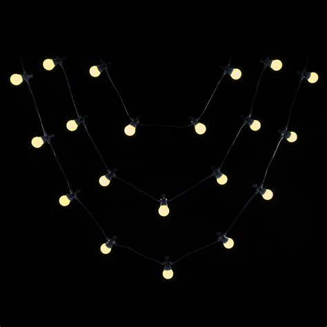 outdoor large bulb string lights 20 large connectable static outdoor string lights lv
