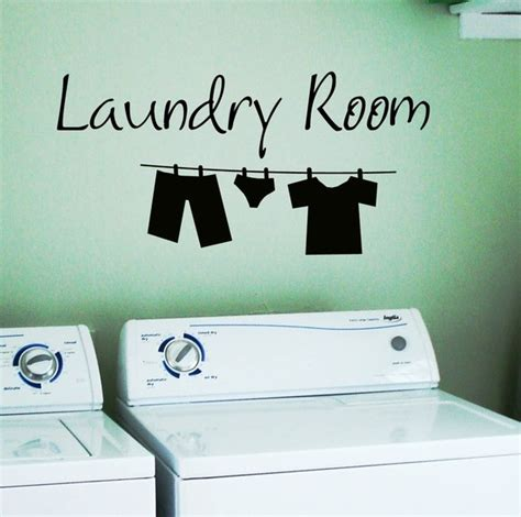 laundry room wall stickers laundry room removable wall stickers wall decal