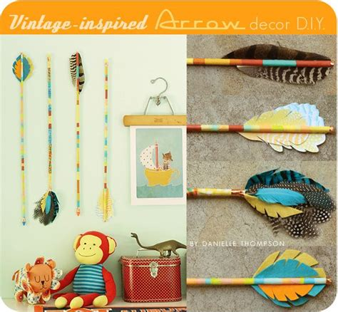 vintage craft ideas and projects thompson family vintage inspired arrow decor d i y