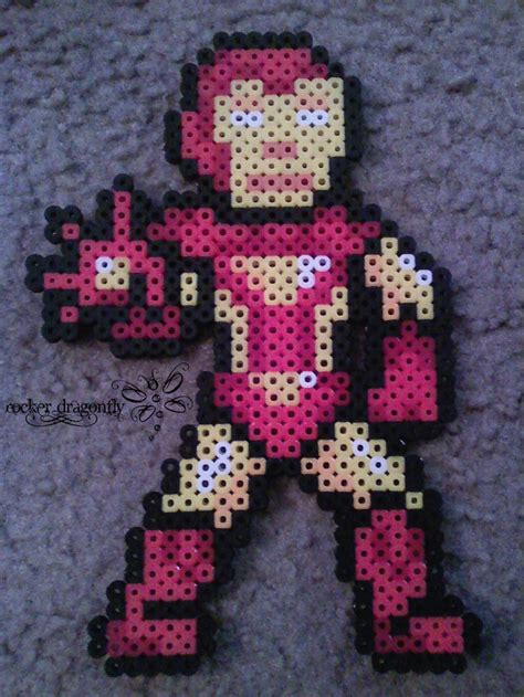 iron perler 36 best images about perler marvel on