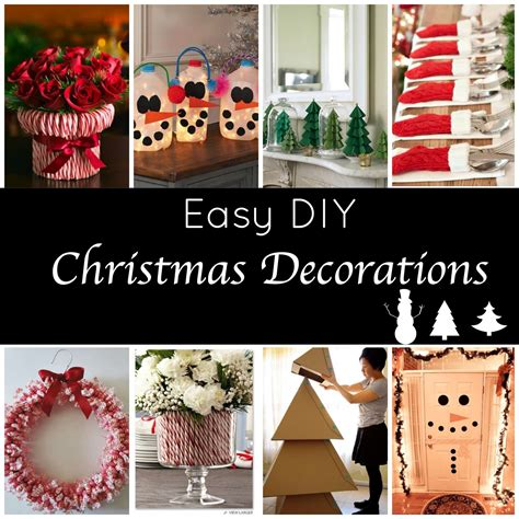 easy to make decorations at home and easy diy decorations for a festive home