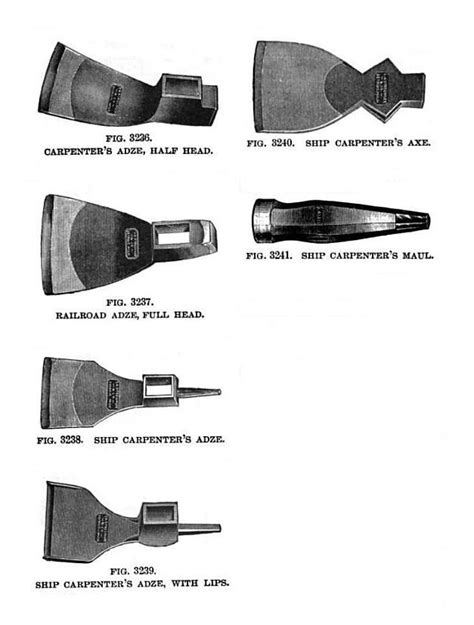 woodworking adze file 19th century knowledge woodworking adze and axe jpg