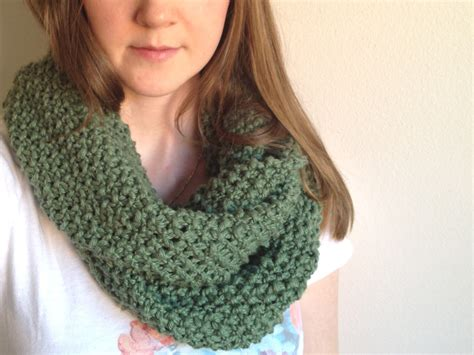 free easy infinity scarf knitting pattern genius hour how to knit an infinity scarf for beginners